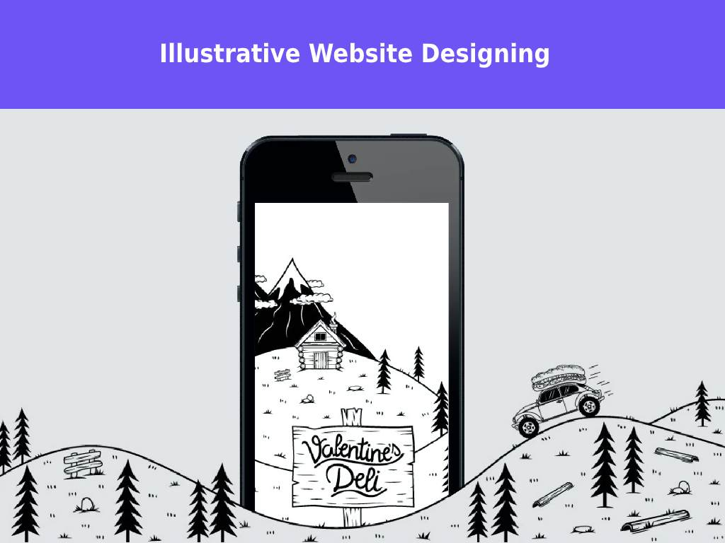 ILLUSTRATIVE WEB DESIGN